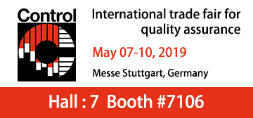 CONTROL 2019 - International Trade Fair for Quality Assurance