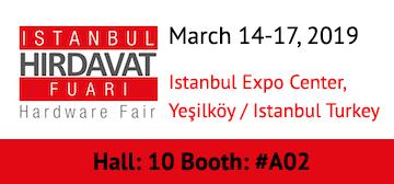 Istanbul Hirdavat Fuari Hardware Fair 2019